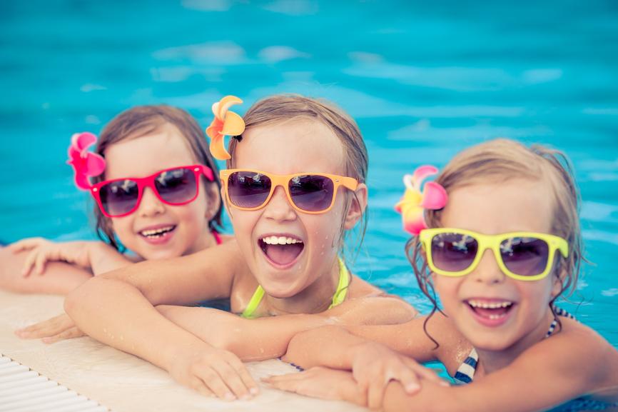 El verano y los dientes de los niños