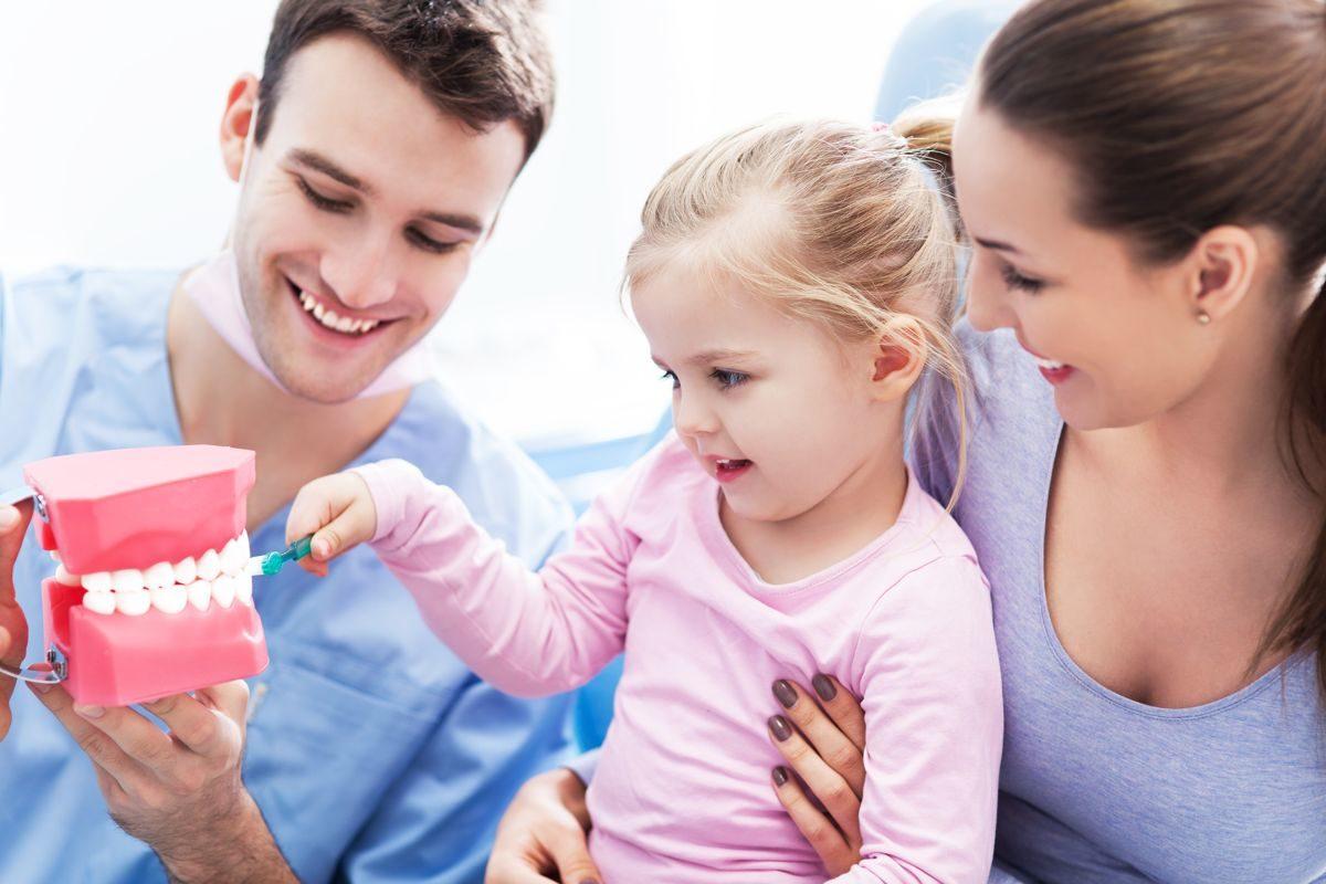 La primera visita al odontopediatra
